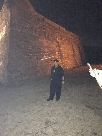 GhoSt Augustine: Tour guide Kevin was great, spooky photo!