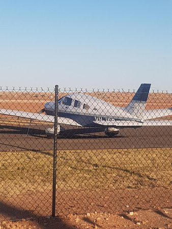 Birdsville Tourist Park : Fly into Birdsville and across the road to the Pub.