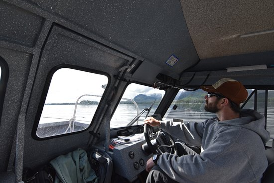 Baranof Fishing Excursions: Our guide Brian