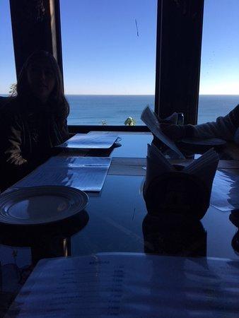 Terrazas de Centinilla: Our table inside