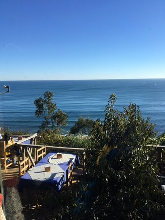 Terrazas de Centinilla: Pacific Ocean view from balcony