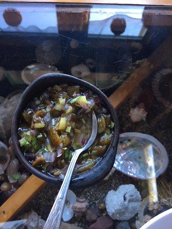 Terrazas de Centinilla: Seaweed (kelp) salad