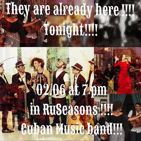 RuSeasons restaurant-club : Macumba Band in RuSeasons at 02.06!!!!  It was COOL!!!!