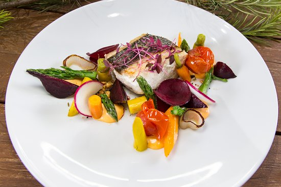 Wandin Valley Estate: Fresh and vibrant describes the Fish of the Day!