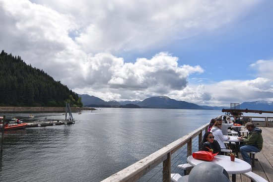 Icy Strait Point: One of the views from the main pier