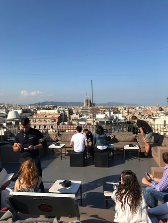 Majestic Hotel & Spa Barcelona: Rooftop