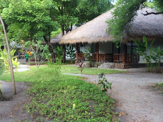 Amrita Maumere Resort : Family bungalows looked the best