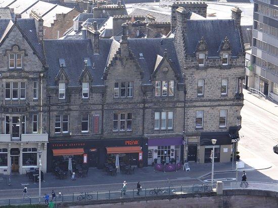 Castle View Guesthouse: Castle View Guest House from Inverness Castle