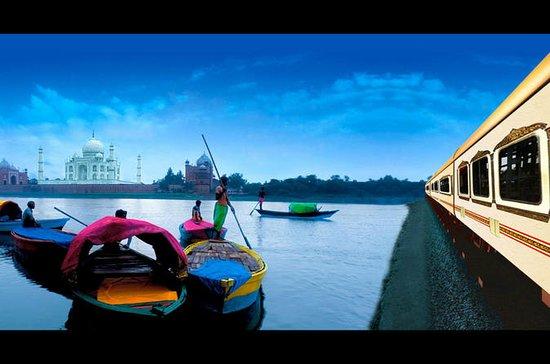 Private Day Trip by Train: Taj Mahal...