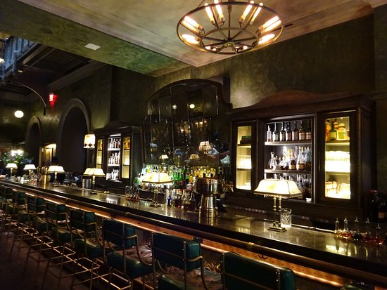 The Beekman A Thompson Hotel : Lounge bar
