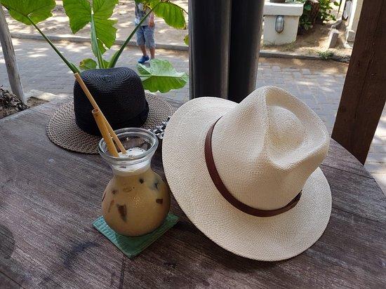 Segara the Seaside Bar and Restaurant : Cappuccino glacé, waouw !