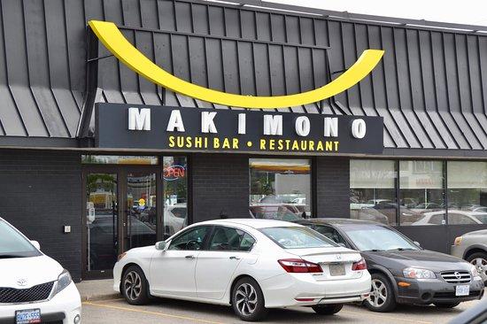 Makimono Restaurant: Restaurant exterior