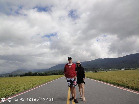 Taitung Brown's Road: 稻子成熟時的伯朗大道