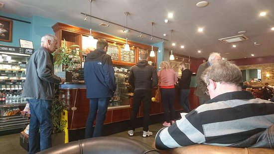 Caffe Nero - Eastbourne : busy during the week