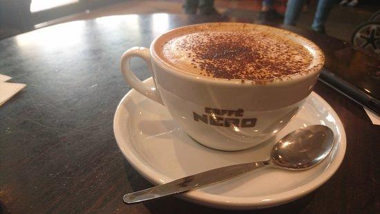 Caffe Nero - Eastbourne : a good cappuccino