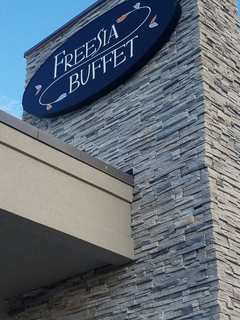 Freesia Buffet: Easy access from I77.