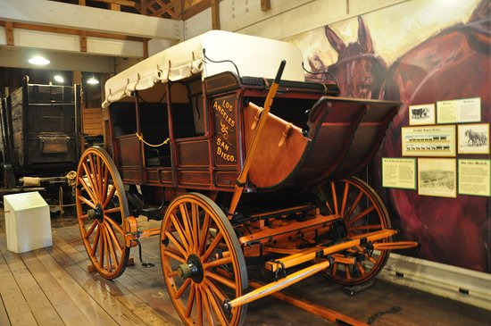 Old Town San Diego: Wagon at the Stables