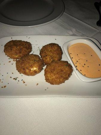 Steak 44: Fried Deviled Eggs
