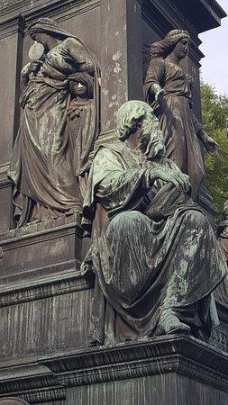 Statue of Johann Christoph Friedrich von Schiller: Schiller Denkmal