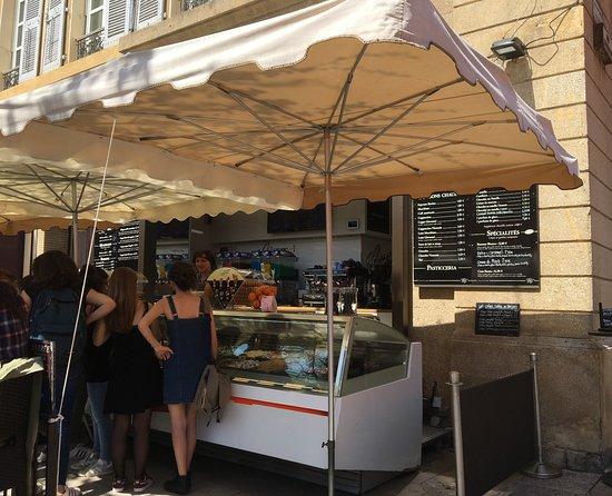 Vieil Aix: Gelato for Sale Old Aix