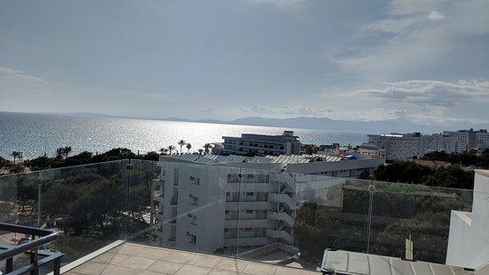 Principe Hotel: Blick von der eigenen Dachterasse