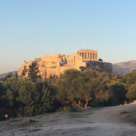 Athens Free Walking Tour: Eva showing us Athens