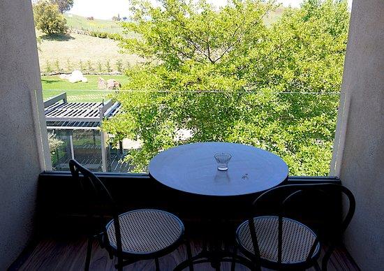 Fucina di Vulcano : 2nd floor hotel room view. (photo: David Hawkes)