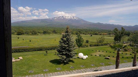 Fucina di Vulcano : View from conference room. (photo: David Hawkes)