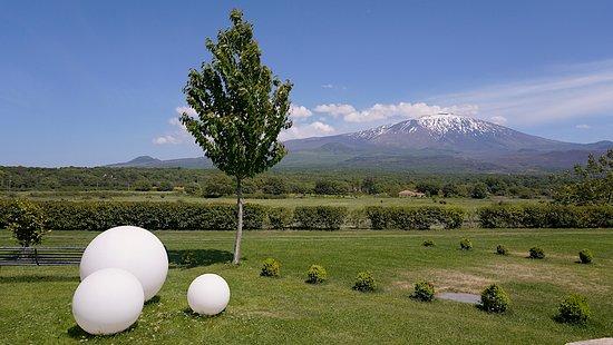 Fucina di Vulcano : View from hotel grounds. (photo: David Hawkes)