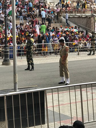 Wagah Border: Indian Jawans