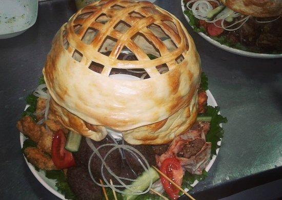 Kochevnik Cafe : Nomad's yurt - unique banquete dish