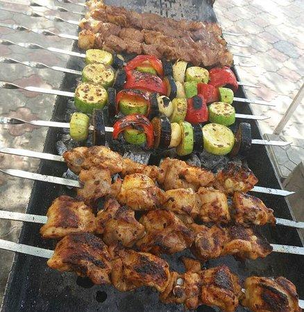 Kochevnik Cafe : Shashlyk - grilled meat