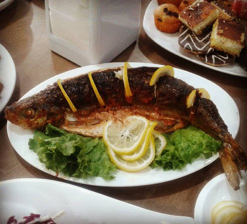 Kochevnik Cafe : Baked fish