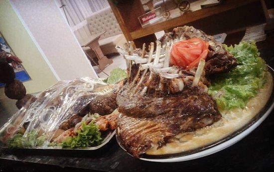 Kochevnik Cafe : Special Plov dish in a very unique serving