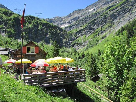 Elm, Switzerland: Sonnenterrasse