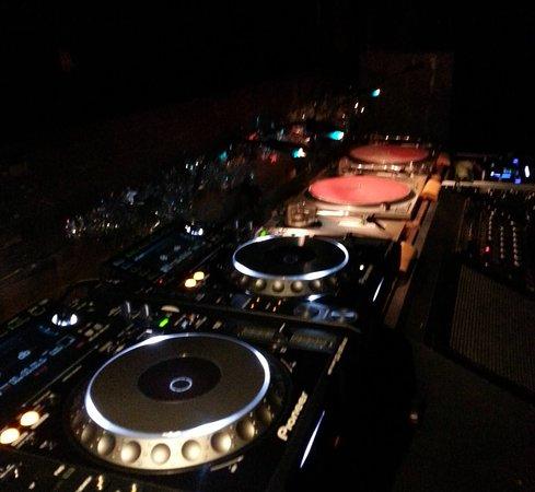 The Hakata: DJ booth.