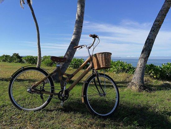 Six Senses Fiji: Bicycle leisure tour