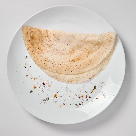 The naked table Restaurant : Dosa/Thosai