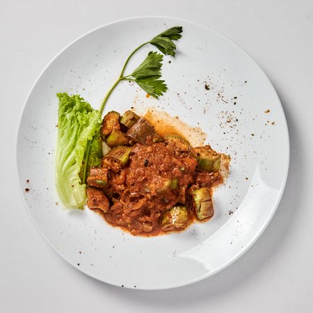 The naked table Restaurant : Eggplant Paratal