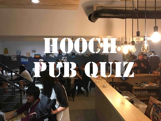 Ooh Cha Cha- Technology Building : Monthly pub quiz