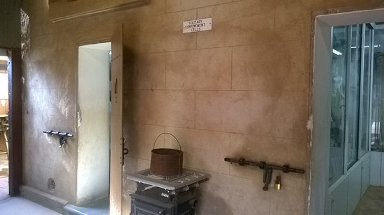 Silverton Gaol Museum: Old cell
