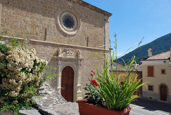 Anversa degli Abruzzi, إيطاليا: Chiesa di Santa Maria delle Grazie