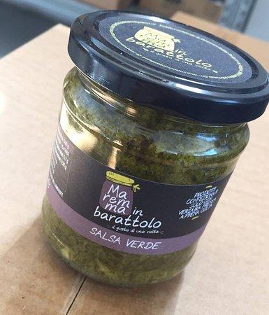 Maremma in Barattolo: Salsa verde.....molto molto delicata