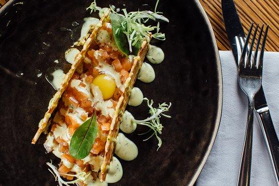 Berezki: Тартар из лосося