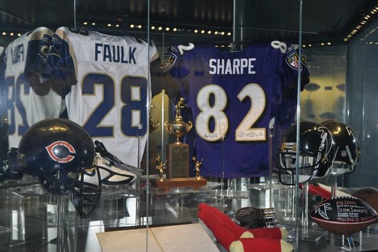 Pro Football Hall of Fame: The museum