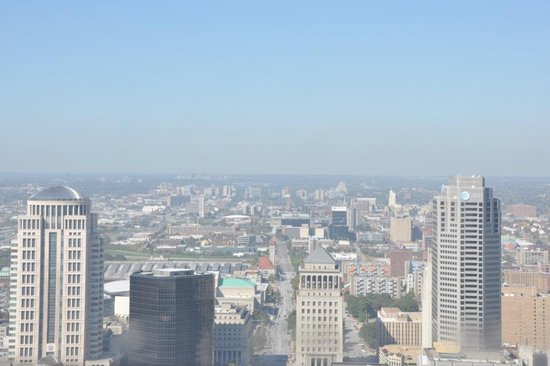 The Gateway Arch : The view from the arch