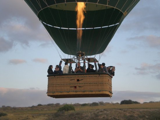 Over Israel - Hot Air Balloon: Departing
