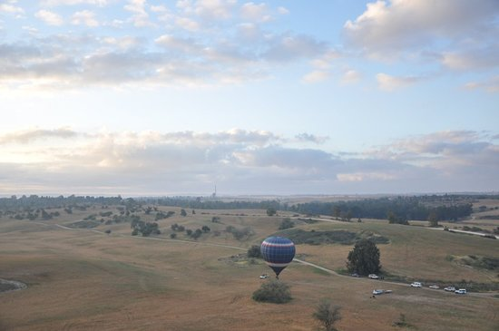 Over Israel - Hot Air Balloon: Photo shoot of other balloons from my balloon