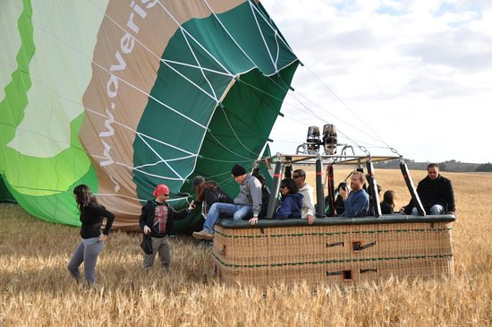 Over Israel - Hot Air Balloon: Landing