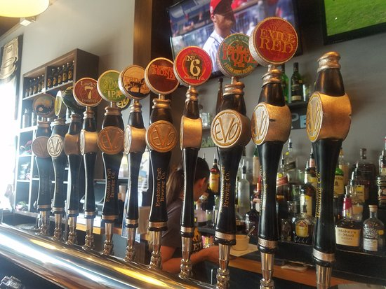Evolution Craft Brewing Company: Beers on tap